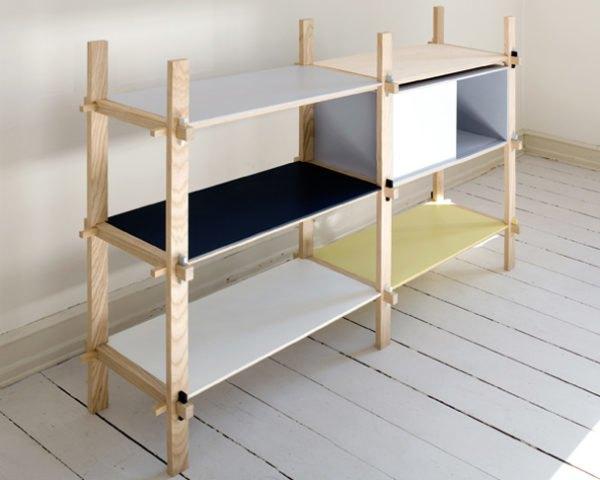 Elegant No-Glue, No-Screw Kile Furniture by Yukari Hot