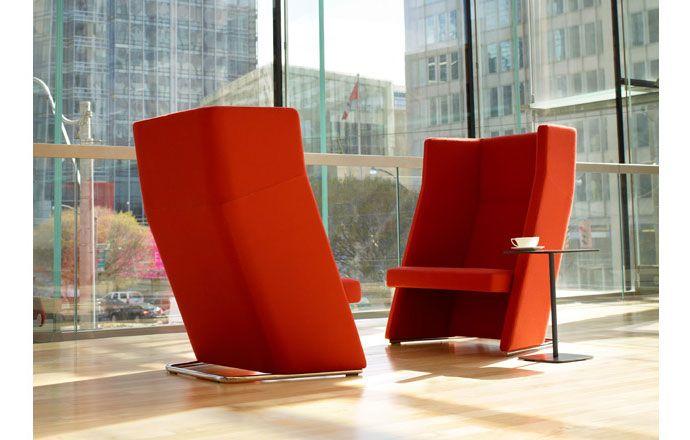 Keilhauer Talk. Provide a semi-private spot in an open floor plan .