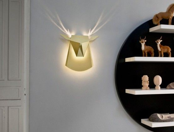 9 Cardboard Lamps And Lights To Try Right Now | Wall lights .