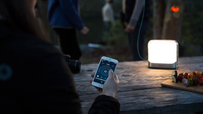 Portable Chargeable Camping Device - BaseLantern With Customized .