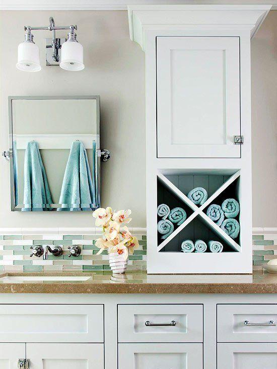 Innovative and Practical DIY Bathroom Storage Ideas 5 | Bathroom .