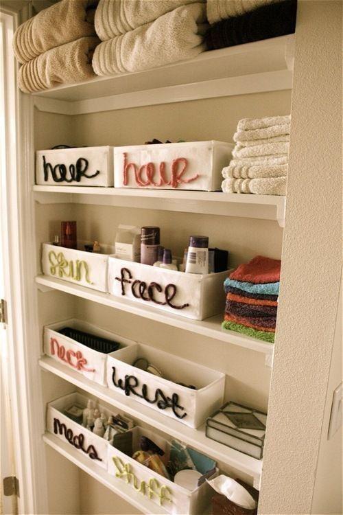 53 Practical Bathroom Organization Ideas | Home organization .