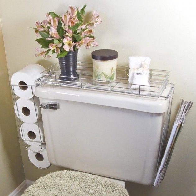 30 Creative and Practical DIY Bathroom Storage Ideas | Diy small .