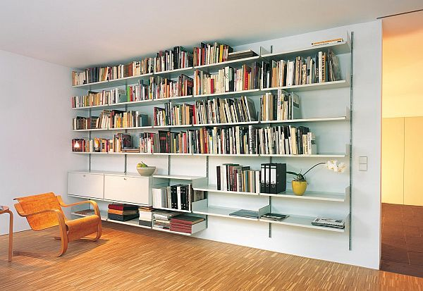The most practical Shelving System from 1960 | Wall mounted .