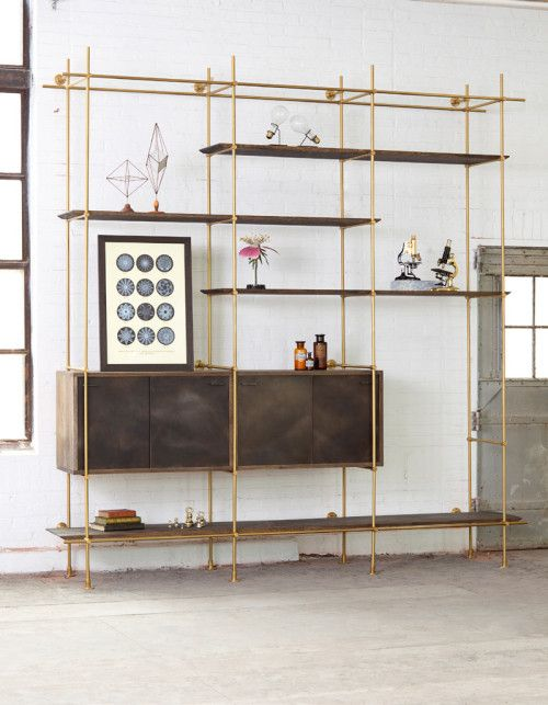 Collector's Shelving System | Shelving, Furniture design, Interior .