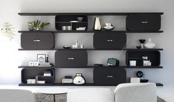 9 Diverse and Practical Shelving Units For an Original Interior .