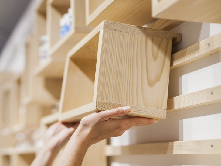 Modern modular shelving systems and practical storage space ide