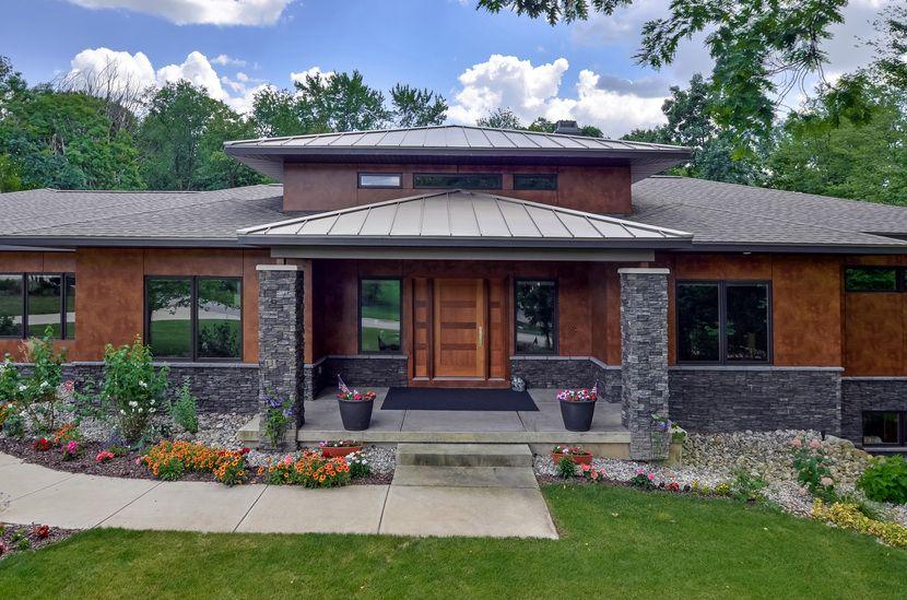 Prairie Home Design Contemporay | modern prairie style house plans .