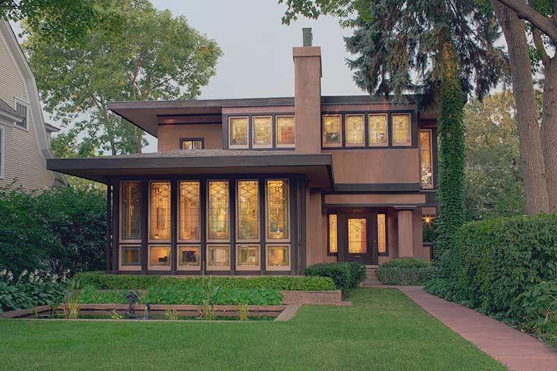The Prairie Style: 1900 – 1915 | Prairie style architecture .