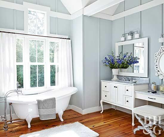 Traditional Bathroom Decor Ideas | White bathroom decor .