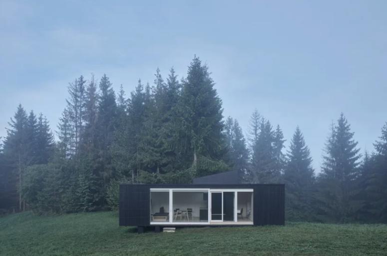 ARK-Shelter: A Prefab Cabin In The Wild - DigsDi