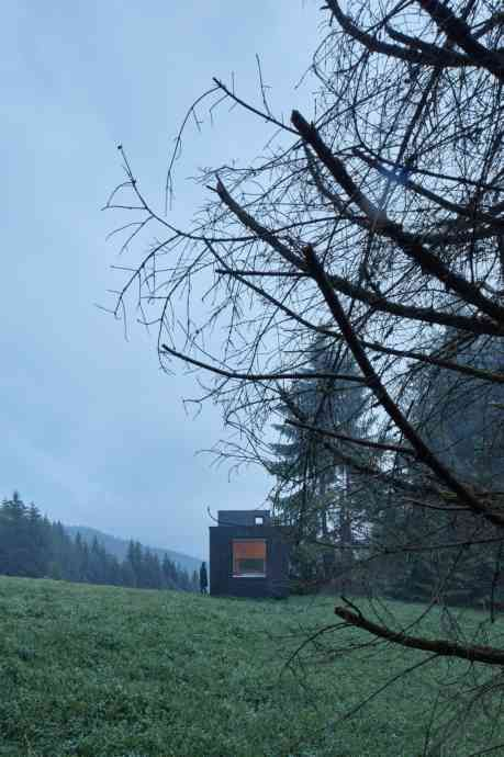 Into the Wild   Prefab cabins, House, home magazine, Off grid cab