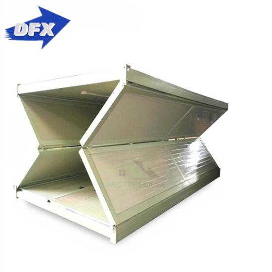 China Prefabricated Modular Steel Building Villa Bathroom Foldable .