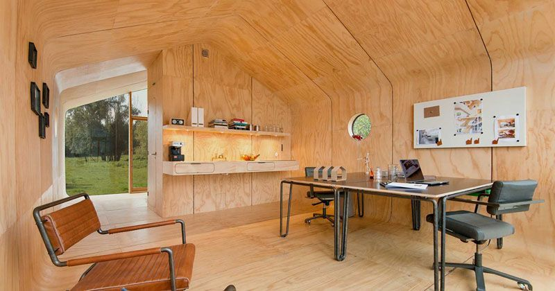 This prefab tiny house is built from 24 layers of cardboard | Tiny .