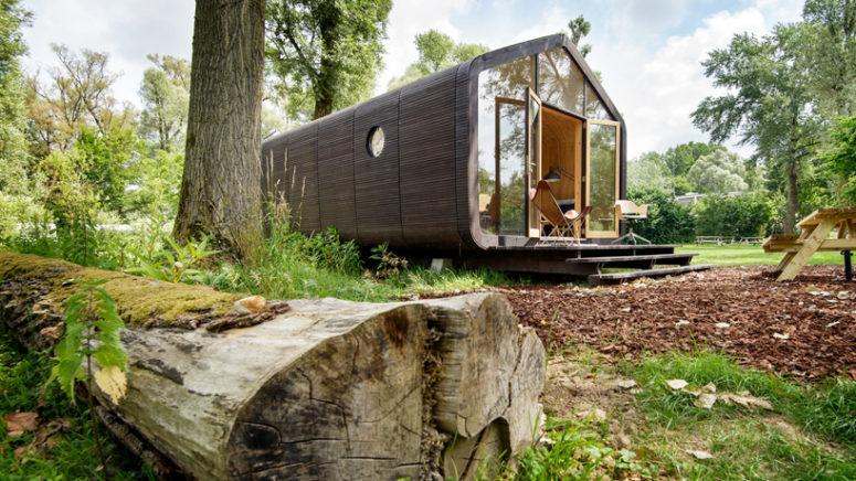 Wikkelhouse: A Prefab Holiday Home Of Cardboard - DigsDi