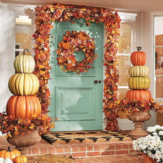 10 Fall Porch Decorating Ideas - Pretty My Party - Party Ide