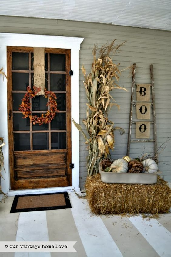 27 Best Fall Porch Decorating Ideas and Designs for 20