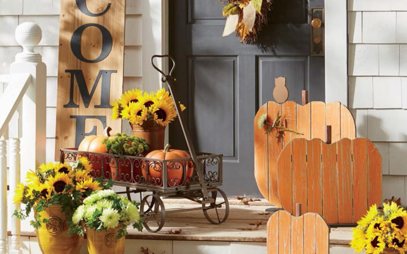 Fall Porch Decorating Ide