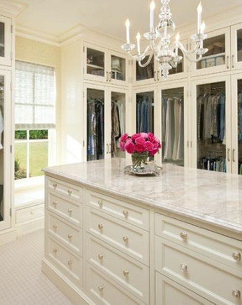 Pretty Feminine Walk In Closets | Beautiful closets, Dream closets .
