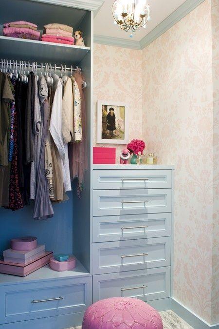40 Pretty Feminine Walk-In Closet Design Ideas | DigsDigs | Closet .
