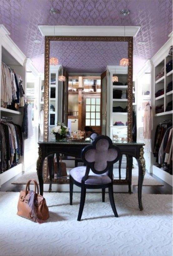 40 Pretty Feminine Walk-In Closet Design Ideas | DigsDigs | Home .