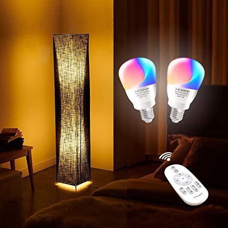 "LVYUAN Floor Lamp 61"" Softlighting Home Minimalist, Tall, Modern ."