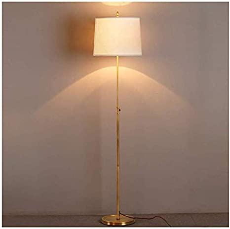 Fashion Pure Copper Reading Floor Lamp Modern Minimalist Bedroom .