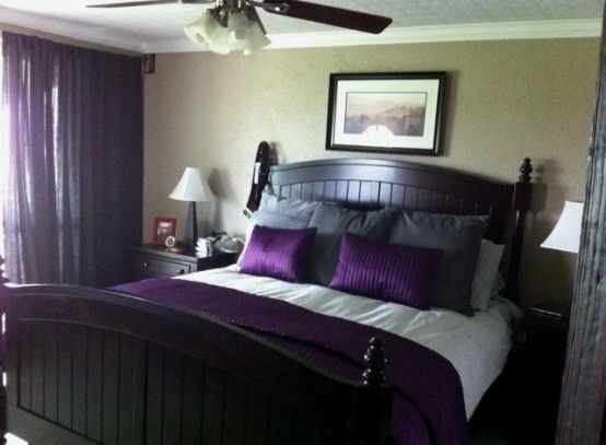 Purple Accents In Bedrooms – 51 Stylish Ideas | DigsDigs | Purple .