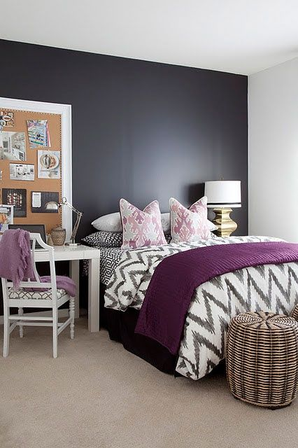 Purple Accents In Bedrooms – 51 Stylish Ideas | DigsDigs | Home .