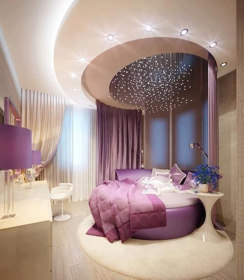 Purple Accents In Bedrooms – 51 Stylish Ideas | Luxurious bedrooms .
