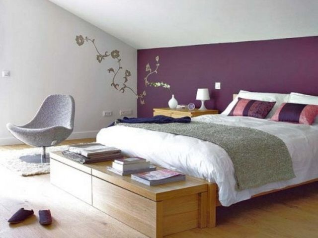 Purple Accents In Bedrooms – 51 Stylish Ideas (With images .