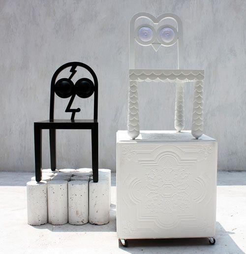 Caricature as Furniture by 56thStudio | Unusual furniture, Chair .