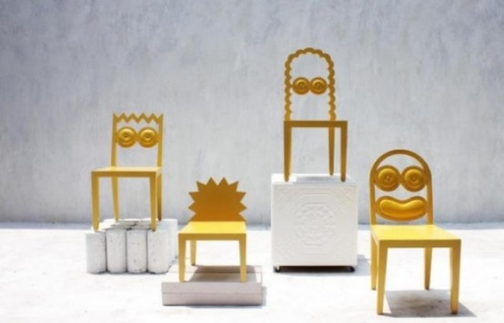 Quirky And Fun Сaricature Chairs Collection - DigsDi