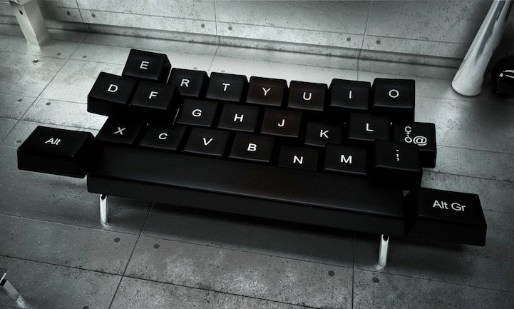 QWERTY Keyboard Sofa Bed: Perfect For Falling Asleep On Your .