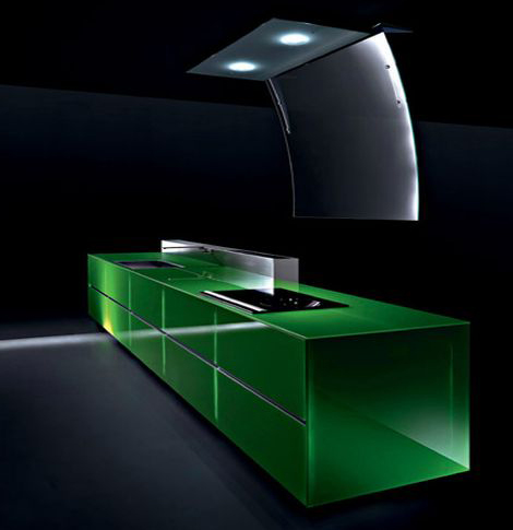 Eco Kitchen - 100% Recyclable Kitchen by Valcucine, gReenaissance .