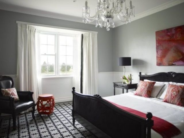 Red Accents In Bedrooms – Stylish Ideas | DigsDigs | Gray bedroom .