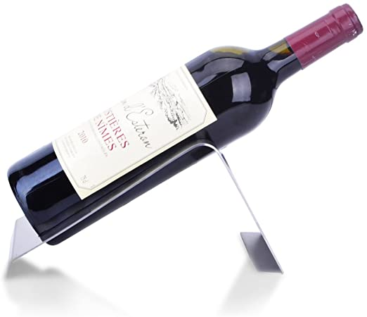 Amazon.com: CdyBox Stainless Steel Wine Rack Single Wine Bottle .