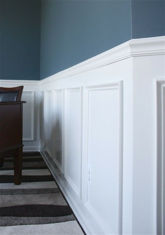 25 Refined Ways To Use Molding In Your Home Décor   Идеи домашнего .