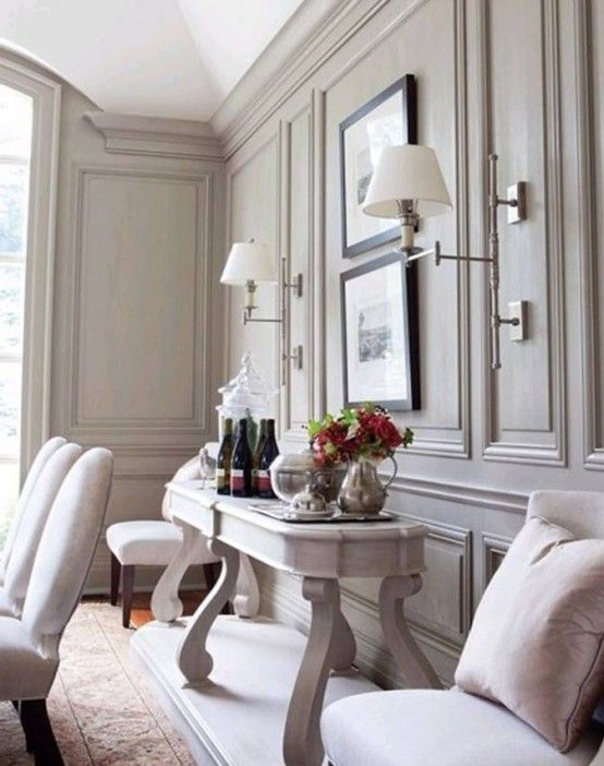 25 Refined Ways To Use Molding In Your Home Décor   Home, Interior .