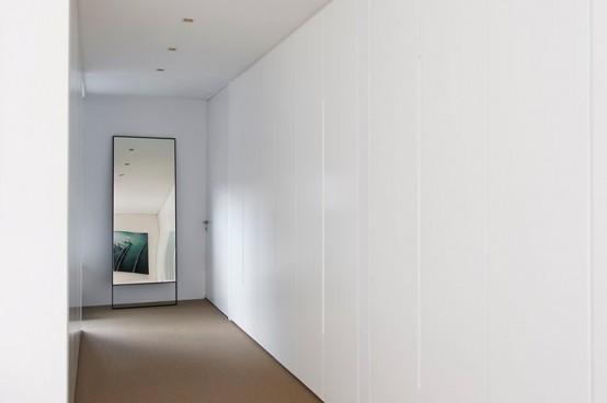 Refined Yet Minimalist Bathroom Design With Greenery - DigsDi