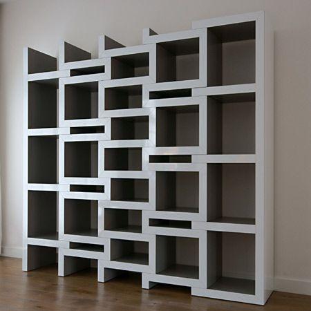 Called REK, this extendable bookcase (designed by Renier de Jongh .