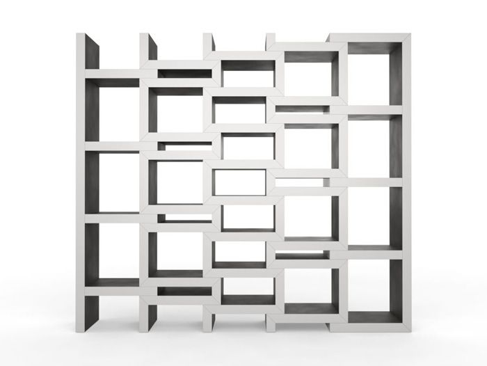 REK is a bookcase that grows with your book collection. The more .