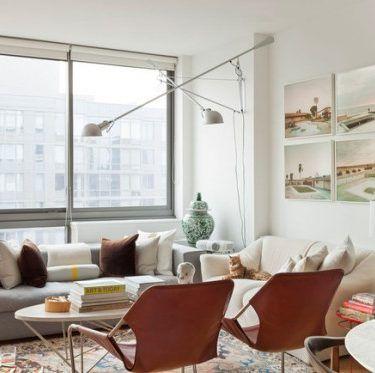 House Tour :: Relaxed Scandinavian in Velvet & Linen | Home living .