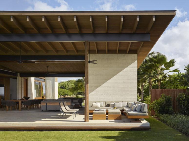 Relaxing Indoor/Outdoor Hawaii Residence - DigsDi