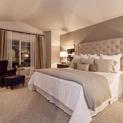 relaxing, warm, cozy, elegant, comfortable - beautiful bedroom .