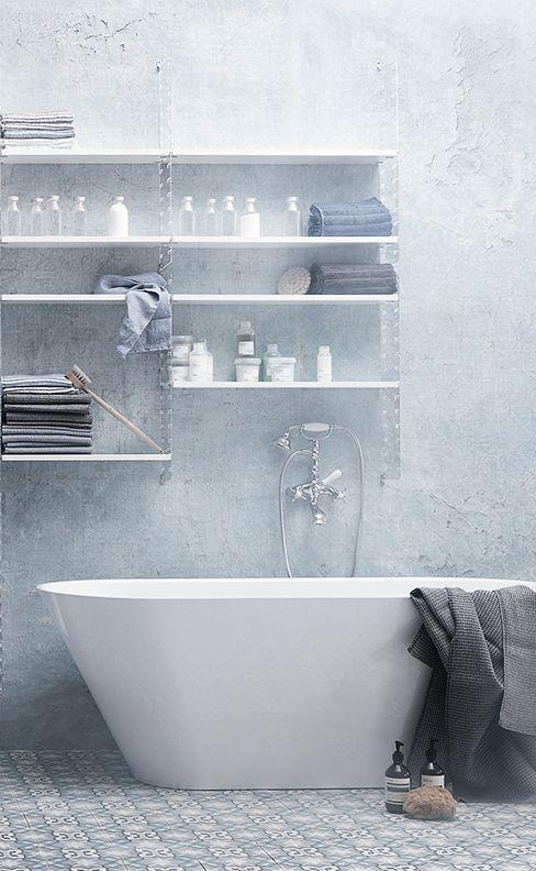 67 Relaxing Scandinavian Bathroom Designs   Relooking de salle de .