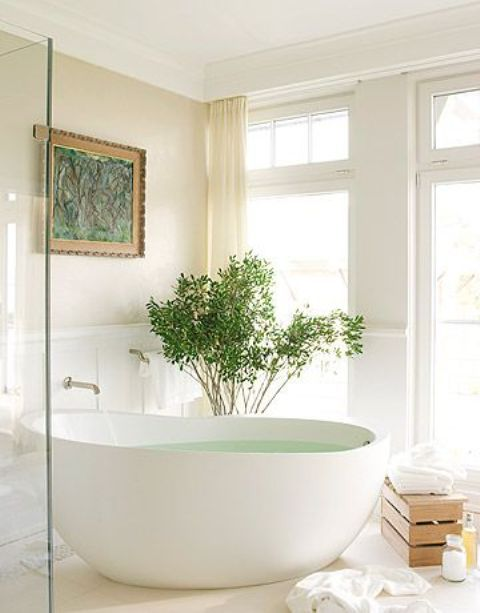 26 Relaxing Soaking Tubs With Cool Therapeutic Designs   White .