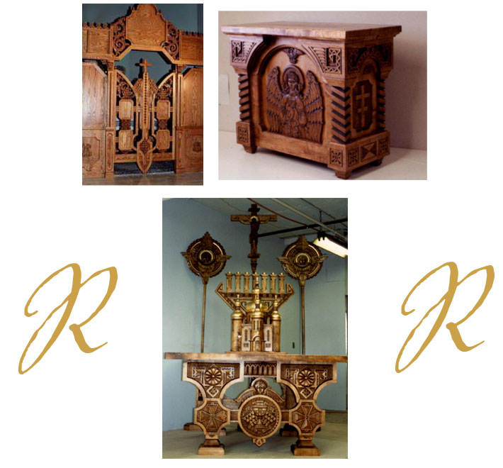 religious furniture - Rich Roth Desig