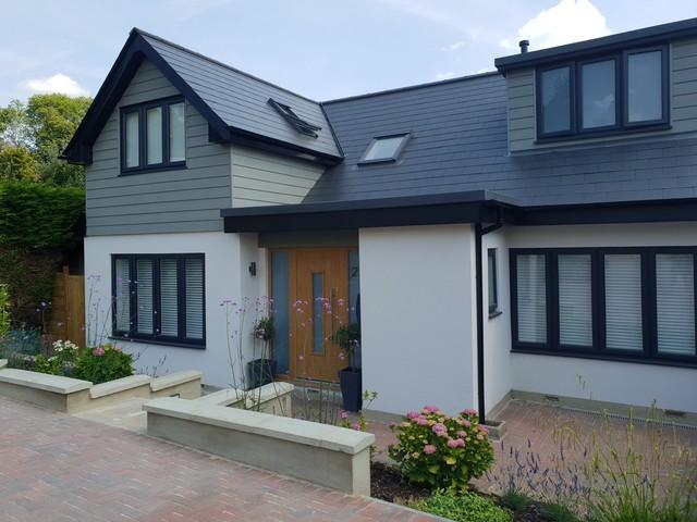 1960s bungalow renovation - Contemporary - Exterior - Surrey - by .