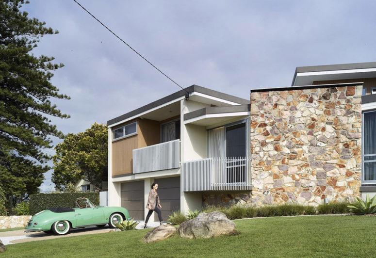 Renovated Mid-Century Modern Home In Australia - DigsDi